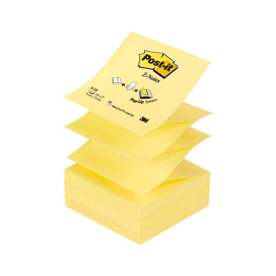 Bloc de notas adhesivas zig zag Post-it Z-Notes R-330