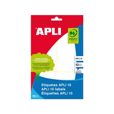 Etiquetas adhesivas manual Apli 01660
