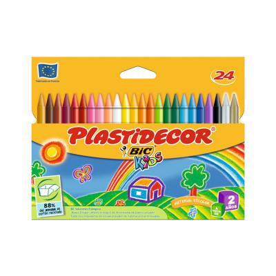 Lápices de cera de colores Plastidecor 9203011