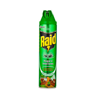 Insecticida spray Raid 600ml 003445