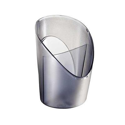 Cubilete portalápices Intego azul transparente