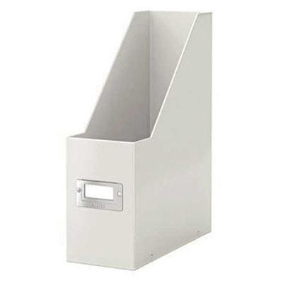 Revistero de archivo Box Snap & Store blanco