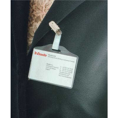 Identificador portanombre con pinza Esselte 371113