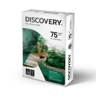 Papel fotocopiadora multifunción extra 75g Discovery A4 297x210mm