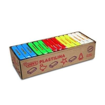 Caja de plastilina colores básicos Jovi 70B