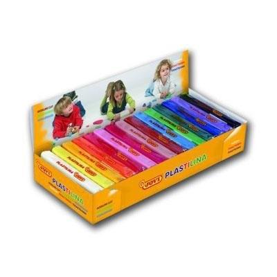 Caja de plastilina colores surtidos Jovi 50g 2 pastillas por color
