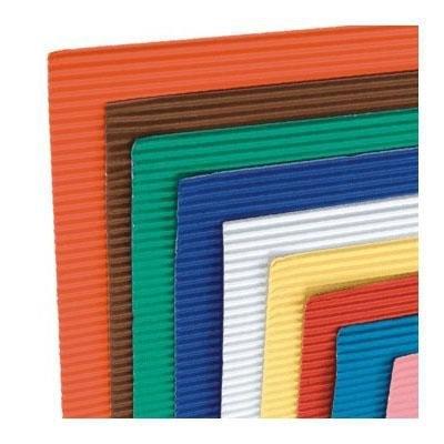 Cartón ondulado de colores 758522CO10