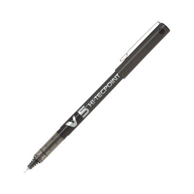 Rotulador roller punta metálica tinta líquida Pilot V5 BX-V5-B