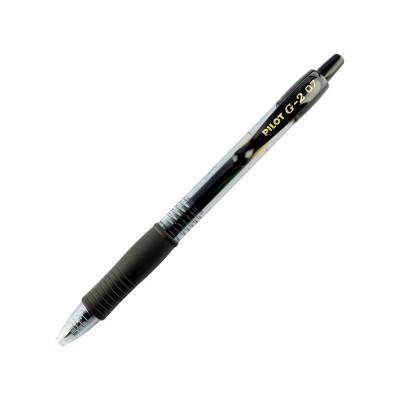 Bolígrafo retráctil Pilot G2 BL-G2-7-B