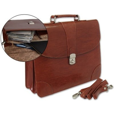 Cartera portadocumentos marron Q-connect KF02610