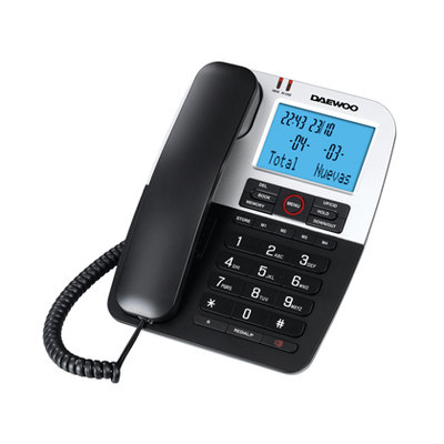 Teléfono con cable Daewoo DTC 410 71992