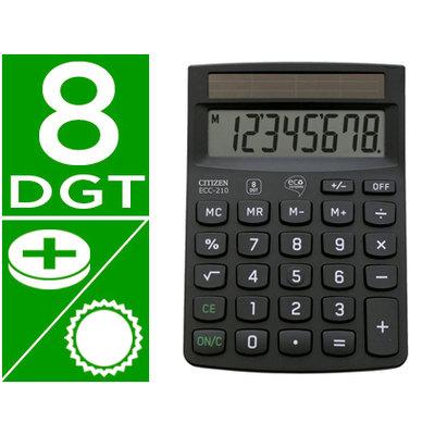Calculadora de sobremesa Citizen ECC-210
