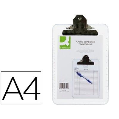 Placa portanotas con pinza superior Q-connect