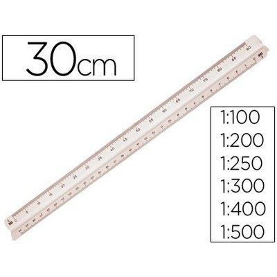 Escalimetro de Plastico 1/100 1/500 16320000