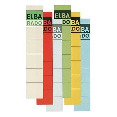 Etiqueta lomera archivador Elba 100420953