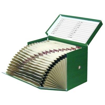Caja de archivo definitivo con fuelle 20 separadores Elba