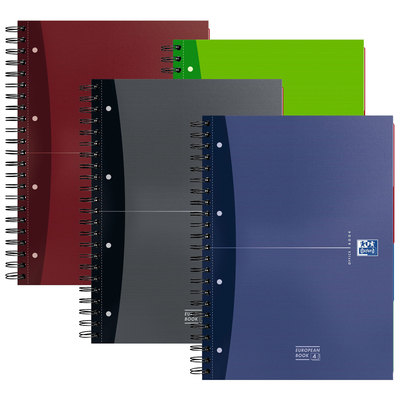 Cuaderno espiral microperforado tapa extradura Oxford Office 100104738