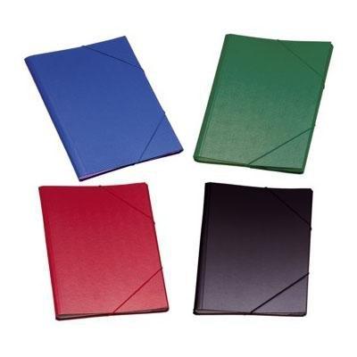 Carpeta clasificadora cartón forrado con separadores Dohe verde