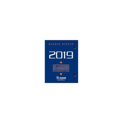 Bloque calendario sobremesa Dohe 8,5x11cm 11601