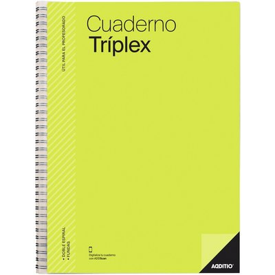 Cuaderno tríplex Additio P192