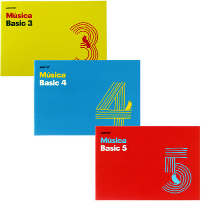 Cuaderno de Música Additio Basic M04