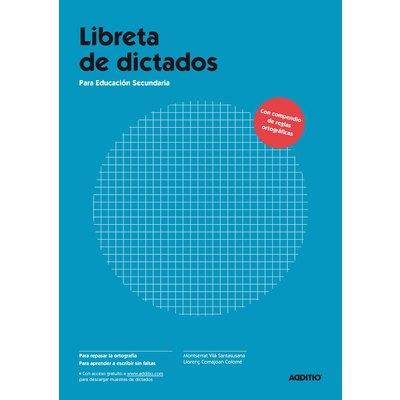 Libreta de dictados para Educación Secundaria Additio D122