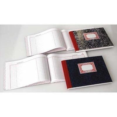 Cuaderno cartóne Cuarto apaisado Cuentas corrientes