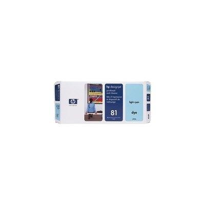 Cartucho inkjet HP 81 Cian claro+limpiador   C4954A