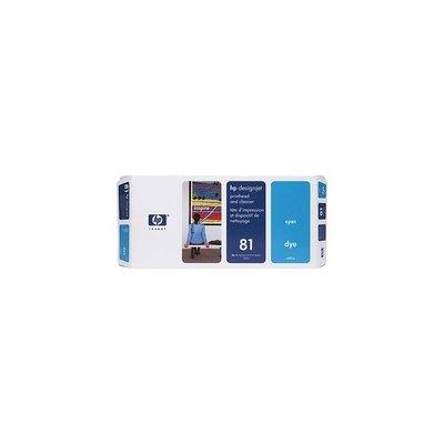 Cartucho inkjet HP 81 Cian+limpiador   C4951A