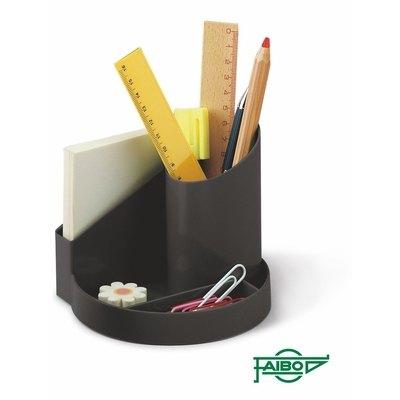 Cubilete organizador plástico Faibo