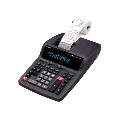 Calculadora con impresora Casio DR420RE DR-420-RE