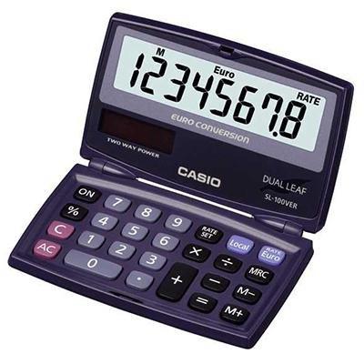 Calculadora de bolsillo Casio SL100-VER