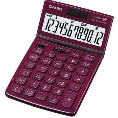 Calculadora de sobremesa Casio JW200TV JW-200TW-R