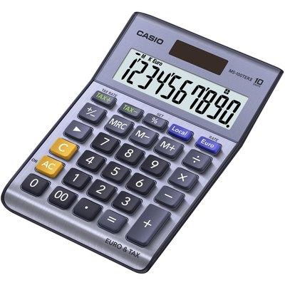 Calculadora de sobremesa 10 dígitos Casio MS-100TERII MS-100TERI