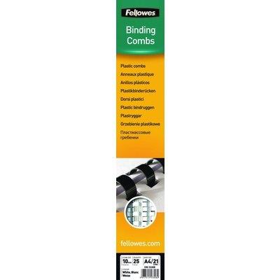 Canutillo de encuadernación de plástico redondo Fellowes 5331502