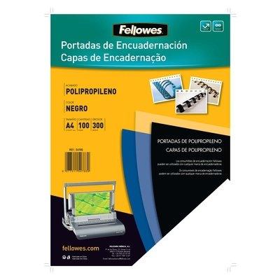 Portadas de encuadernar polipropileno Fellowes A4 transparente 500 micras