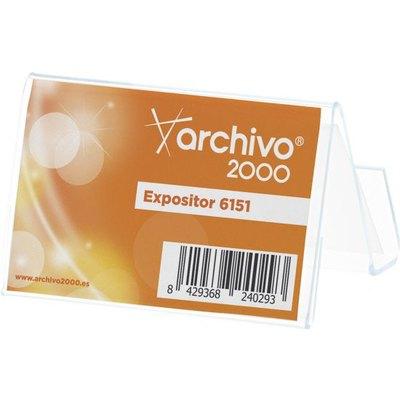 Portatarjetas de sobremesa Archivo 2000 6151 TP CS TP