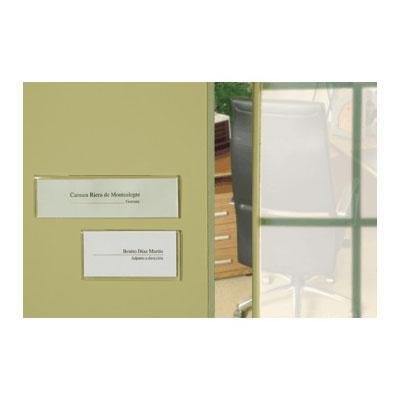 Identificador portanombres para puertas   21x62 cm archivo 2000