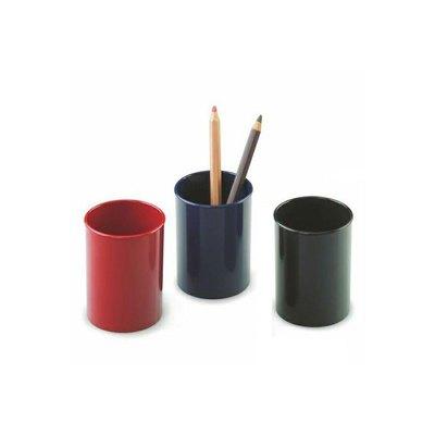 Cubilete portalápices plástico Faibo negro