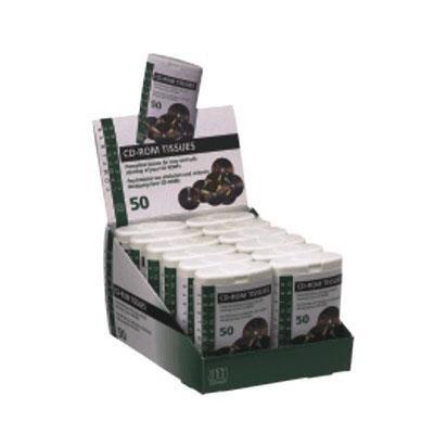 Toallitas limpiadoras cd/dvd 7185150