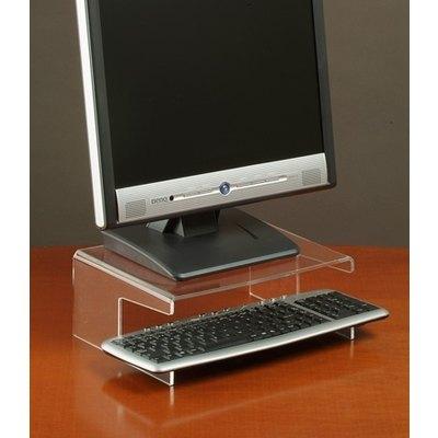 Soporte de monitor y teclado en metacrilato 761120M