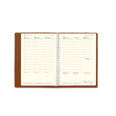 Recambio agenda semana vista Myrga Lebanza Plus 16,5x24cm