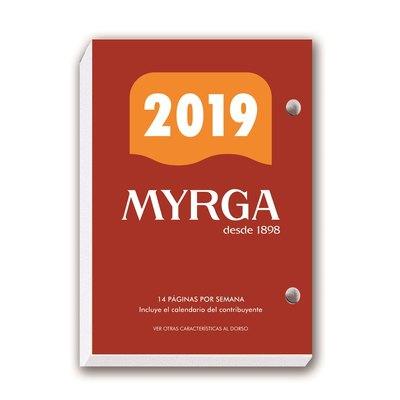 Bloque calendario sobremesa Myrga nº2 8,3x12cm