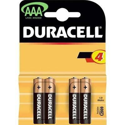 Pila alcalina Duracell simply AAA MN2400