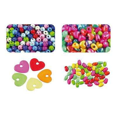 Abalorios de plástico y madera Fixo Kids 68004500