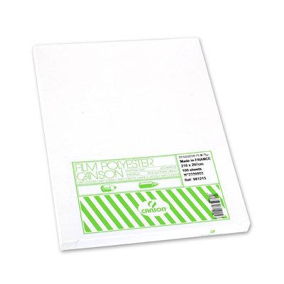Papel  poliéster A4 75 micras Canson 200981215