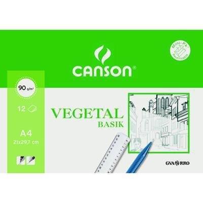 Papel vegetal minipack Canson Basik 200407621