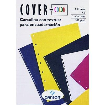 Portadas de encuadernar cartulina tela Canson Cover-color 200407564