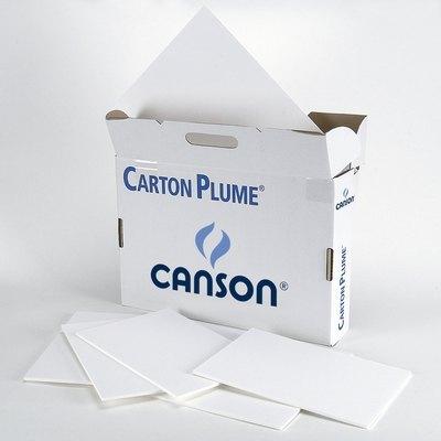 Cartón pluma blanco plancha pequeña Canson 200000282