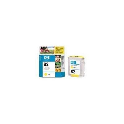 Cartucho inkjet HP 82 Amarillo 69 ml
